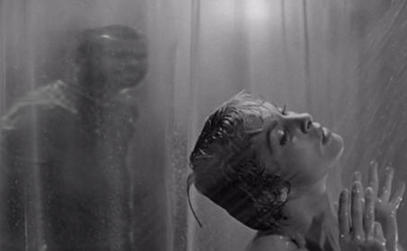 how does hitchcock manipulate the audience in the shower scene in the film psycho essay Alfred hitchcock's psycho (1960) the shower scene this infamous scene rivets the viewer with guilty glimpses (that reveal nothing, though many viewers may recall differently, further exemplifying hitchcock's brilliance for audience manipulation), but this scene also horrifies with its brutal stabbing which is seemingly viewed from the killer's point-of-view.