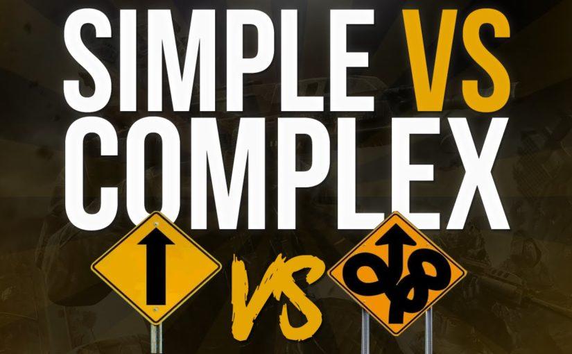 Simple Skills versus Complex skills. Is there a winner? – Kevin O'Hagan
